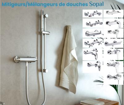 Mitigeurs/Mélangeurs de douches Sopal