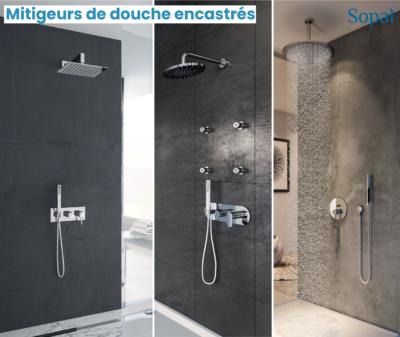 Mitigeurs de douche encastrés Sopal